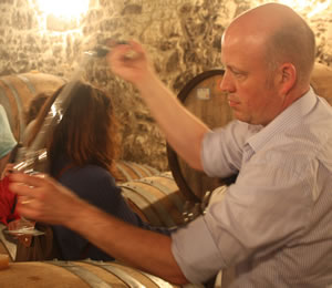 Tim Syrad of Tim Syrad Wine Tours