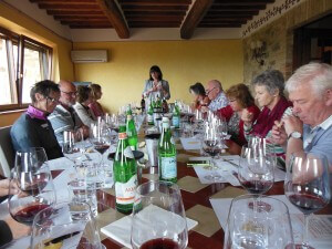 Umbria Wine Tour San Polo tasting