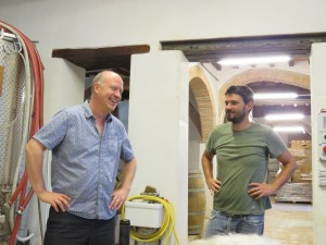 Umbria Wine Tour Tim and Giovanni Cenci