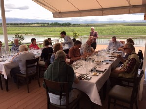 Lunch at Jean Bousquet Argentina Wine Tour