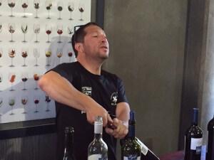 Pablo at Bodega Azul Argentina Wine Tour