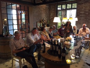 Tasting at Archaval Ferrer Argentina Wine Tour