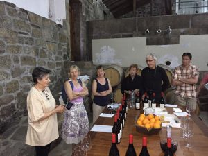 Portugal Wine Tour visit to Terrus with Maria da Assuncao Foy