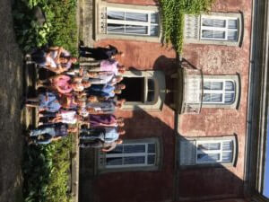 Portugal Wine Tour Group shot at family home Boas Quintas