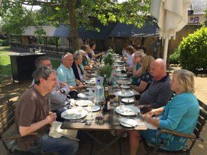 Lunch at Schloss Vollrads