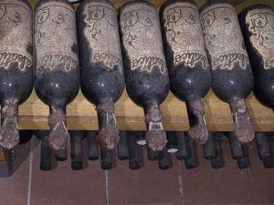 Old bottles at Apollonio