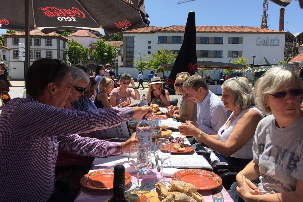 Portugal Wine Tour Sunday lunch in Porto