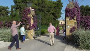 Puglia Wine Tour Castello Monaci gates