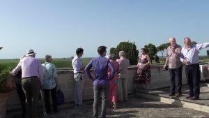 Castello Monaci roof