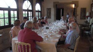 Dinner at Castello Monaci