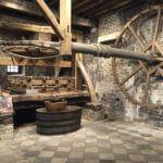 burgundy-wine-tour-2016-historic-wine-press-at-drouhin
