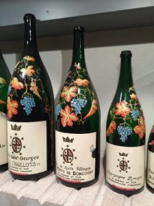burgundy-wine-tour-2016-pretty-bottles-at-domaine-dubois