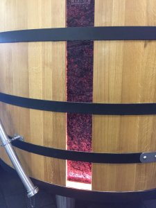 Bordeaux wine tour Ch Dauzac fermentation vat