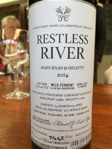 South Africa Wine Tour Restless River bottle
