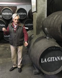 Jerez Wine Tour Tasting from barrel at Hidalgo La Gitana
