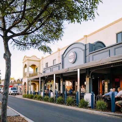 Australia Wine Tour Bussleton Town