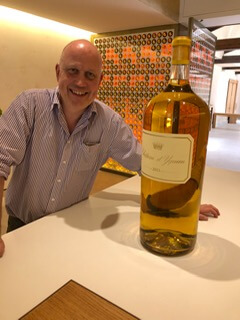 Tim at Chateau d'Yquem