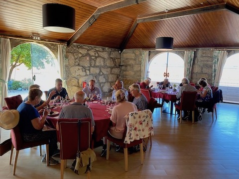 Douro Wine Tour lunch at Taylor's
